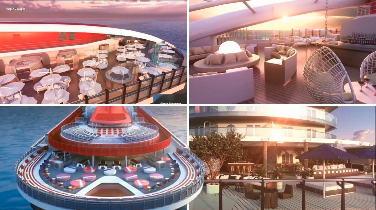 What the inside of Virgin Voyages' first cruise ship looks like