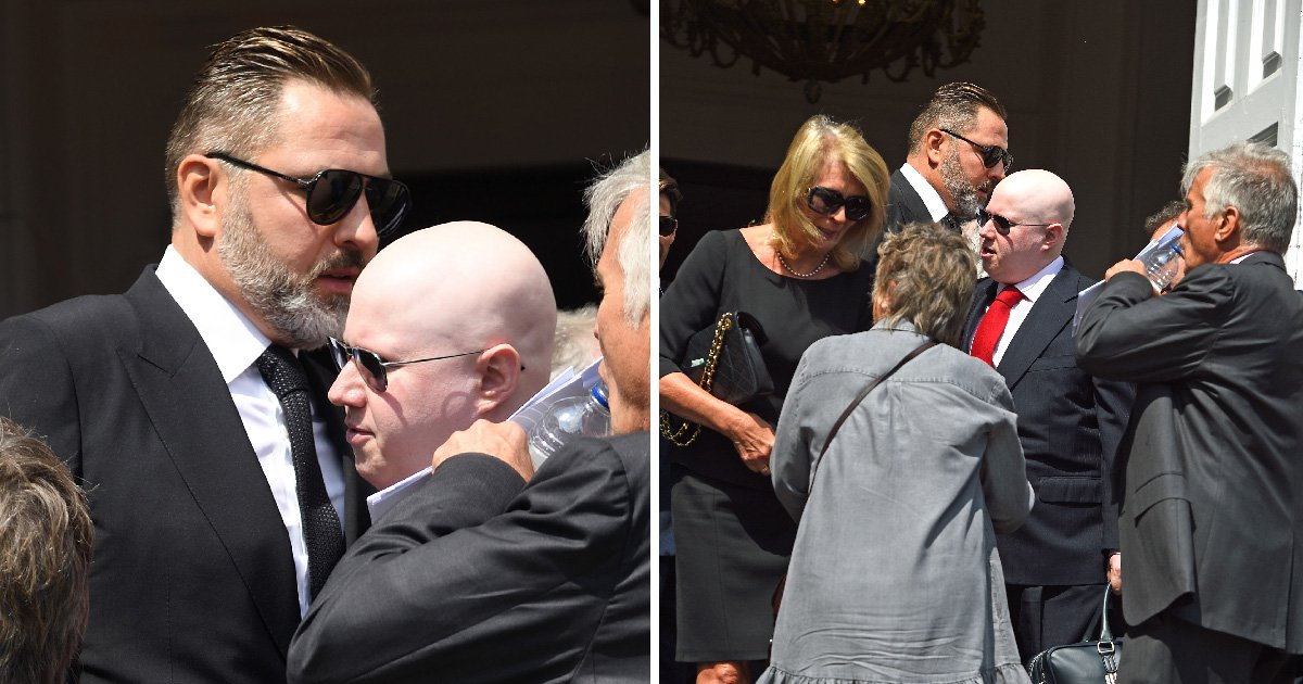 David Walliams and Matt Lucas meet for first time at Dale Winton's funeral after 'seven-year feud'