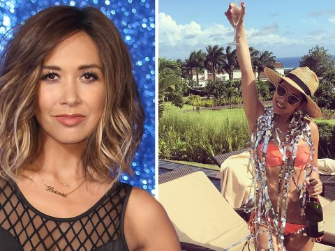 Myleene Klass makes no apologies for showing off her body: 'I feel amazing and empowered'