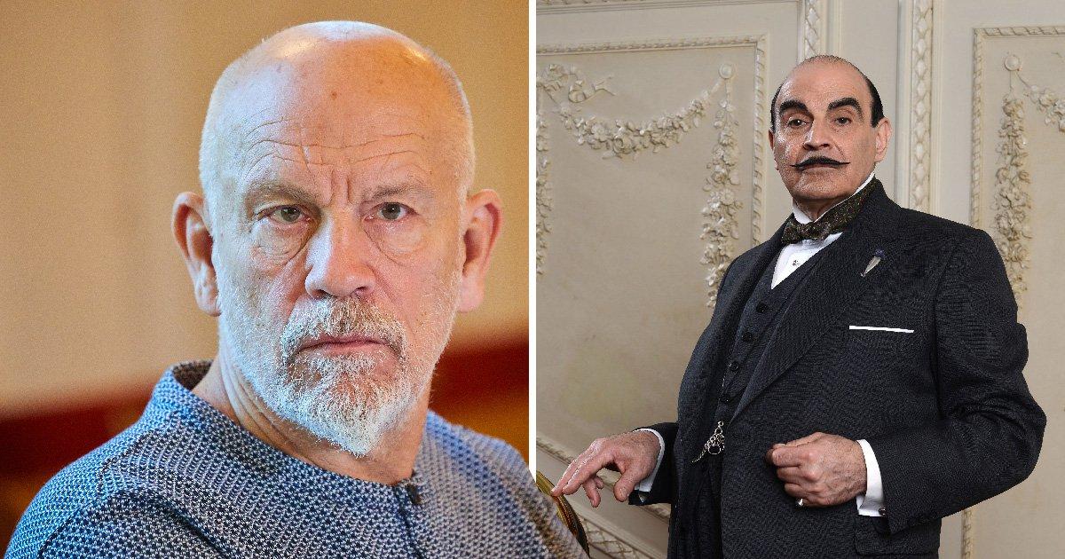John Malkovich to don Poirot's epic tash as he joins Rupert Grint in ABC Murders