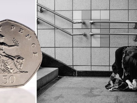 Woman jailed for six months after being caught begging for 50p