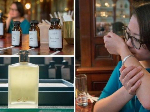 Here's what it's like to get a bespoke fragrance made by the Queen's perfumer