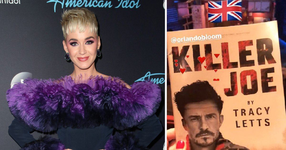 Smitten Katy Perry jets into London to watch Orlando Bloom perform on the West End