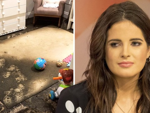 Where does Binky Felstead live as Made In Chelsea star's home is ravaged by storms?