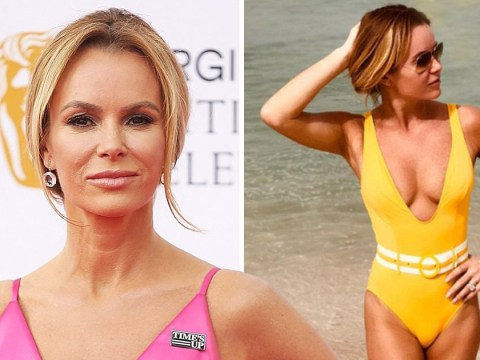 Amanda Holden refuses to go on a diet: 'I eat everything. Drink everything.'