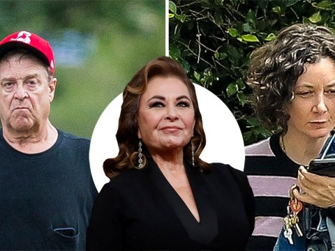 John Goodman and Sara Gilbert seen for first time after losing jobs on Roseanne over star's racist tweets