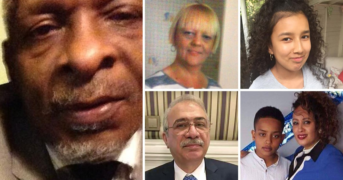 'Hero' grandfather sheltered six people in Grenfell Tower flat before they all died