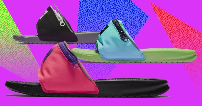 Fanny pack sandals