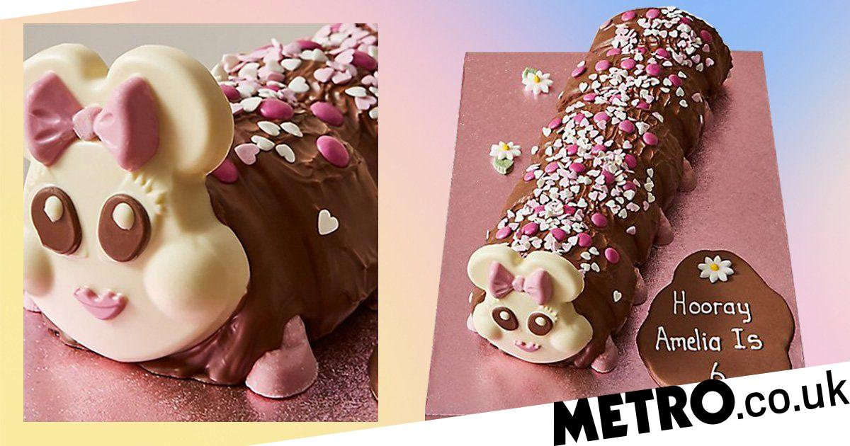 Marks & Spencer's 2kg Connie the Caterpillar cake serves 40 people
