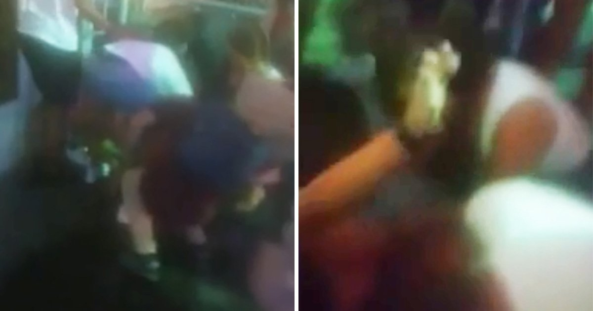 British woman 'knocked out' in huge fight with French tourists on Magaluf strip