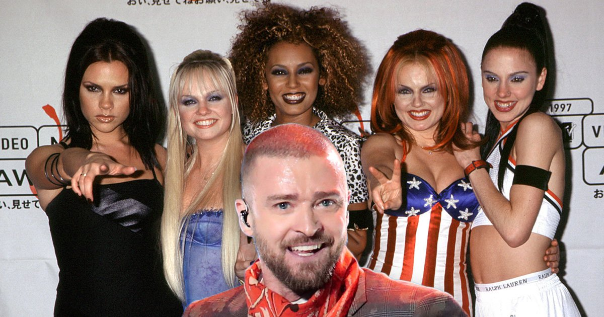 Justin Timberlake admits he hooked up with a Spice Girl – but which one?