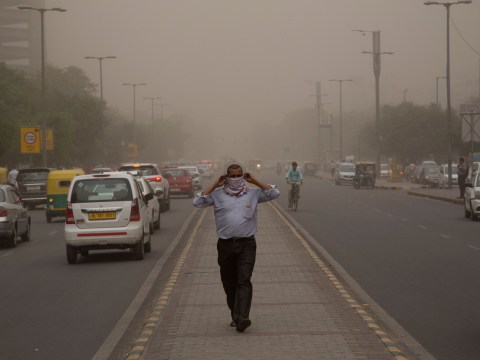 At least 72 dead and more than 100 injured in dust storm in India