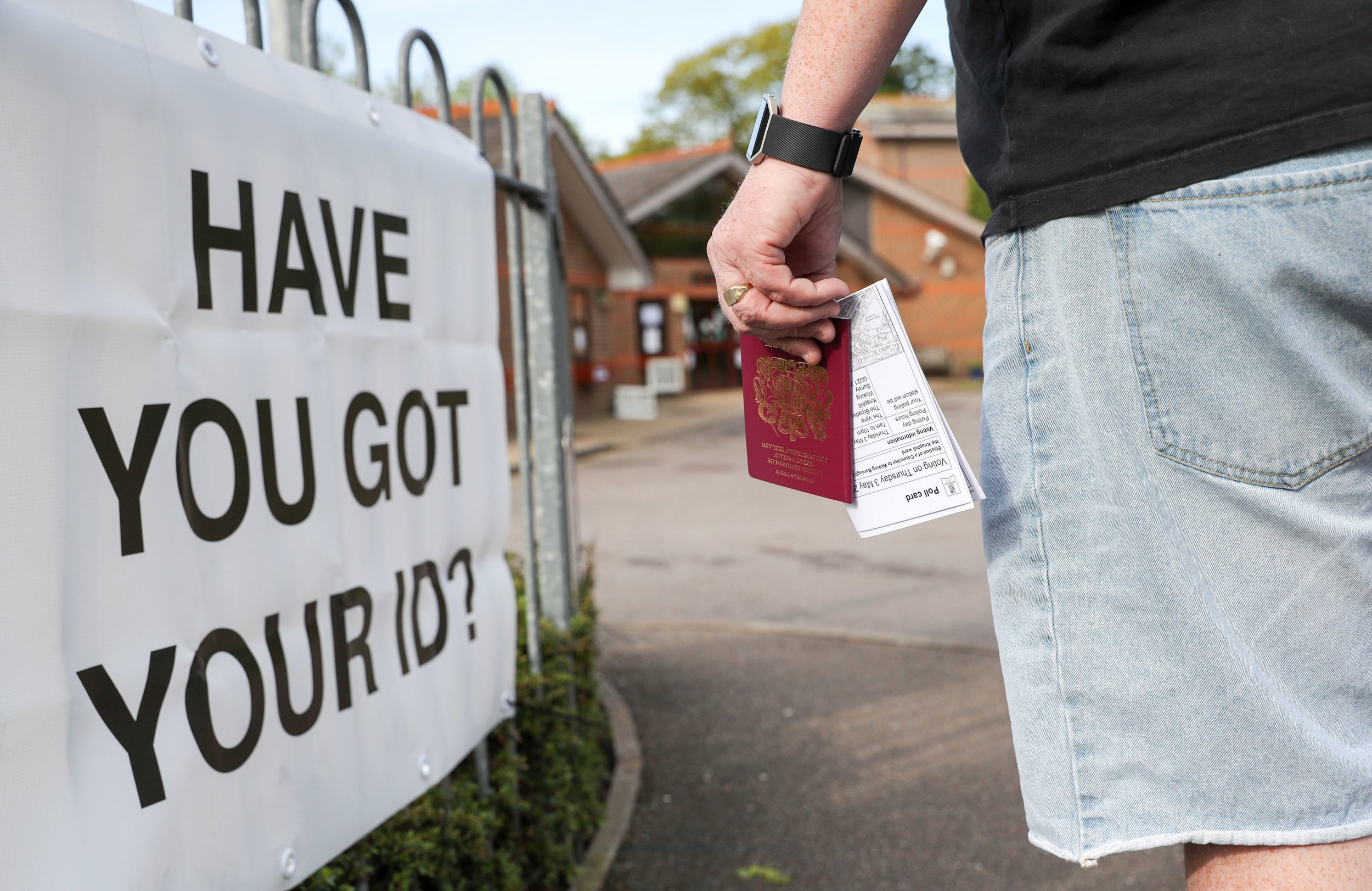 Voters are being turned away from polling stations during 'absurd' ID trials