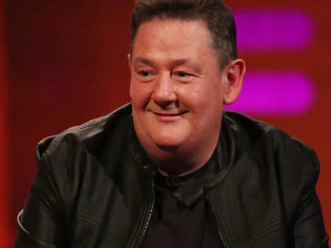 Johnny Vegas admits he nearly cried while posing naked for Demi Moore-style shoot
