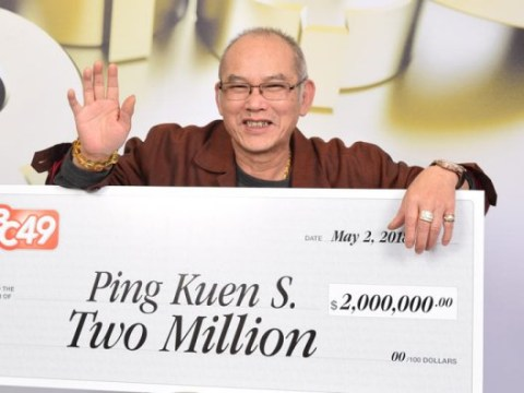 Man wins lottery, retires and celebrates birthday on the same day