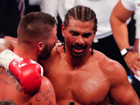 David Haye sends message to Tony Bellew after knockout defeat