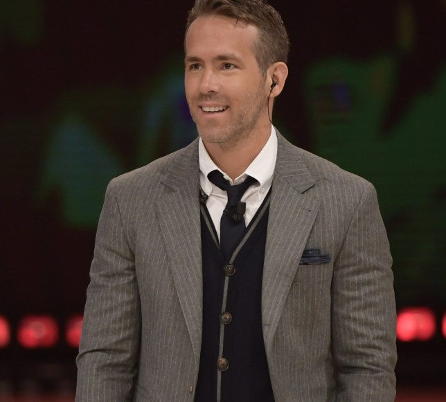 """Rome. Ryan Reynolds and Josh Brolin special guests dancer for a night at Rai Tv Program """"Ballando con le stelle"""". Pictured: Ryan Reynolds Ref: SPL1691795 060518 Picture by: Anna Maria Tinghino/Splash News Splash News and Pictures Los Angeles: 310-821-2666 New York: 212-619-2666 London: 870-934-2666 photodesk@splashnews.com"""