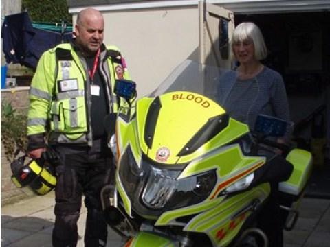 Volunteer blood biker for NHS died transporting life-saving supplies