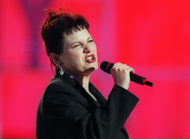 (FILES) In this file photo taken on April 14, 1997 Belgian singer Maurane performs at the Olympia in Paris 14 April 1997. Belgian singer Maurane has died May 7, 2018 at the age of 57, according to the French-language broadcast RTBF. / AFP PHOTO / AFP FILES / Thomas COEXTHOMAS COEX/AFP/Getty Images