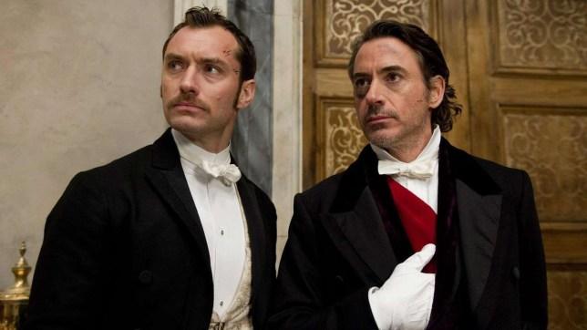 Sherlock Holmes: A Game of Shadows: Robert Downey Jr and Jude Law Robert Downey Jr and Jude Law to return for Sherlock Holmes 3