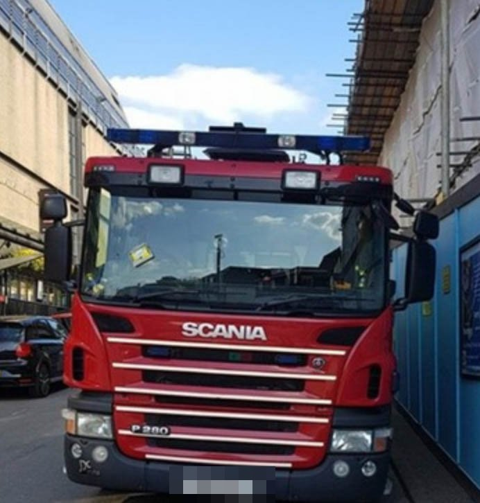 """East Grinstead,West Sussex Tuesday 9th May 2018 Outcry after fire engine gets parking ticket A fire engine was issued with a parking ticket while the on duty crew staffing it were using the gym. But a backlash on social media has seen a change of heart and the local council responsible for issuing the ticket has said it will be revoked The on duty crew were using the gym in East Grinstead on Friday, May 4 because their own facilities at the fire station are being refurbished. But when the crews returned they found that a traffic warden had issued a ticket. On it's Facebook page, East Grinstead fire station said: """"Just a very quick note in response to the viral pictures flying around at the moment that this situation is being dealt with. """"We understand and appreciate everyone has a job to do and that?s how our society works. """"We will always respect this but always challenge professionally when needed. """"At the time our immediate response crew were using fitness facilities in the Atrium as our facility is undertaking maintenance. """"They believed they were parked appropriately and were still able to be on the appliance within 47 seconds for an emergency."""" Councillor Gary Marsh , Mid Sussex District Council?s Cabinet Member for Service Delivery, stated ?On Friday 4 May one of our Civil Enforcement Officers (CEO) was patrolling the area of Little King Street in East Grinstead and identified that a fire engine was parked in a bay designated for Police vehicles only. """"A PCN was issued. However, since then it has come to our notice that the fire crew were on official duty and we have notified the Fire Service that the ticket will be withdrawn.? The parking ticket has now been withdrawn?Credit: Dean Price The East Grinstead crews have now been offered free gym membership by Vicki Price and Wayne Halmes from Chartham Park golf course in East Grinstead where they can now park without fear of getting ticket?UKNIP"""