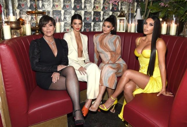 928d2e2af7e38 Even Kim Kardashian wears Spanx as star flashes control underwear under  Versace gown