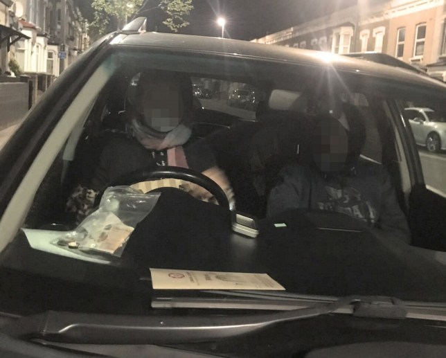 PIC FROM Kennedy News and Media (PICTURED: THE STRANGERS LOCKED IN MUHANNAD'S CAR WITHOUT HIS PERMISSION) An innocent dad whose wife suspected him of having an affair and smoking pot eventually caught two strangers 'up to no good' accidentally locked in his car - only for his bad luck to turn worse when cops let them go. Dad-of-two Muhannad Kaddour, from Leytonstone, East London, had found himself in hot water when his wife found another woman's fake nail in his Lexus RX400 last week. Things became even harder to explain when she was able to smell cannabis in the vehicle despite Muhannad never touching drugs while ??150-worth of items went missing from inside. SEE KENNEDY NEWS COPY