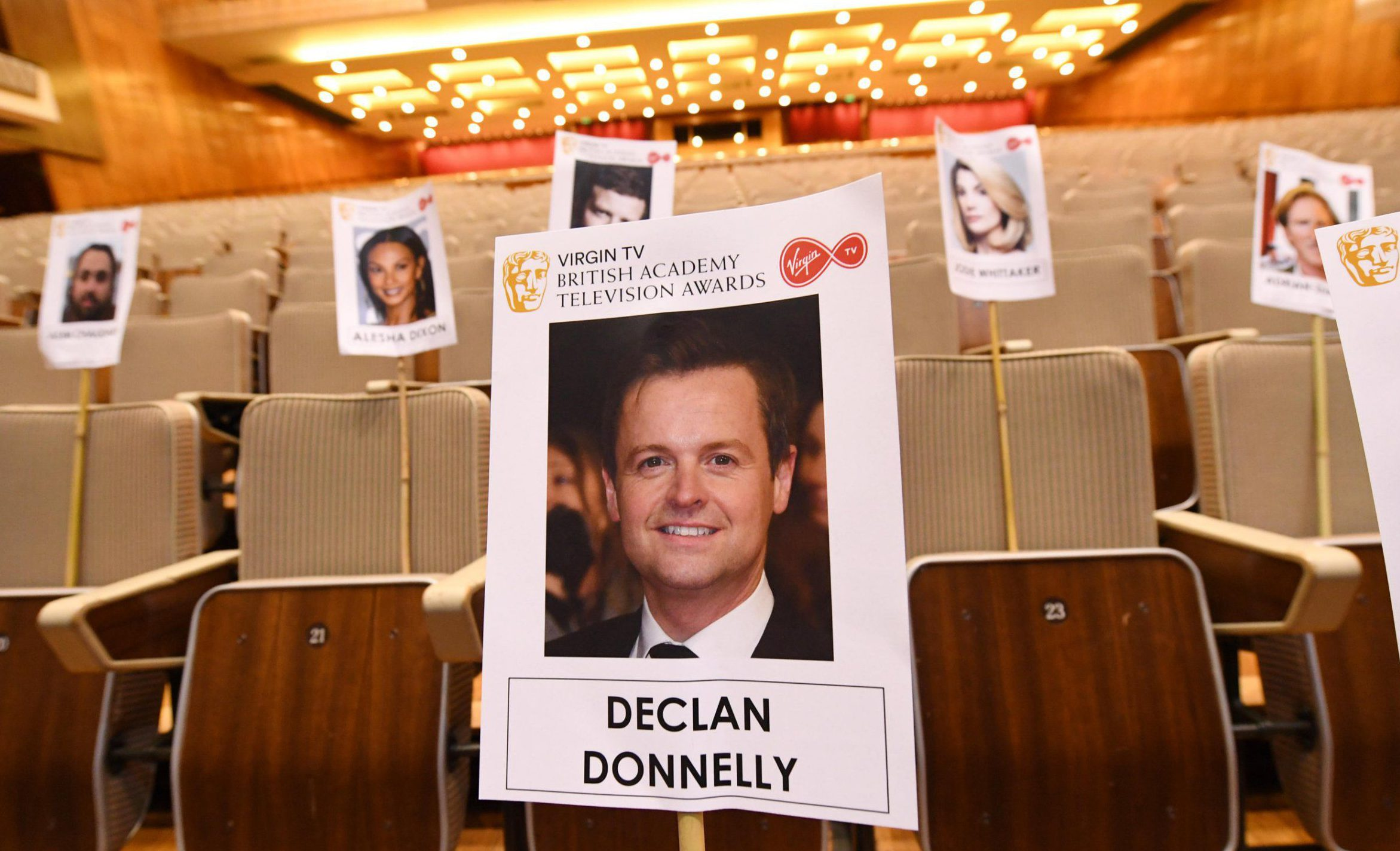 Dec Donnelly to sit alone at Bafta TV Awards as Ant McPartlin leaves rehab