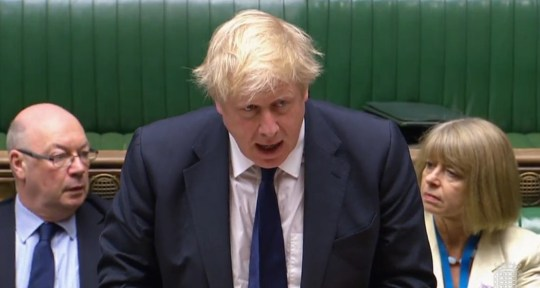 Foreign Secretary Boris Johnson makes a statement on the withdrawal of the United States from the Iran nuclear deal in the House of Commons, London. PRESS ASSOCIATION Photo. Picture date: Wednesday May 9, 2018. See PA story POLITICS Iran. Photo credit should read: PA Wire
