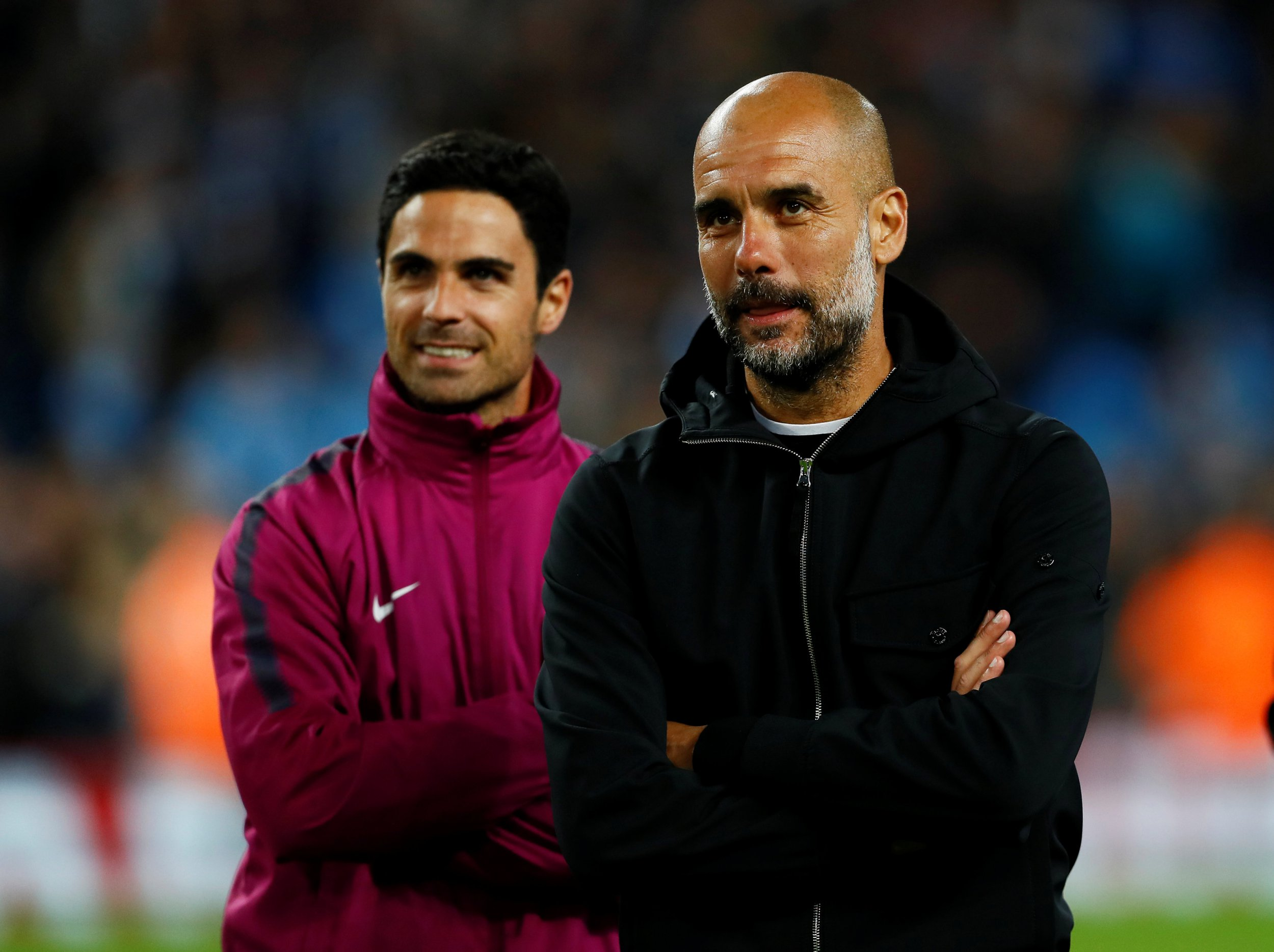Manchester City in talks with Andres Iniesta to replace next Arsenal manager Mikel Arteta