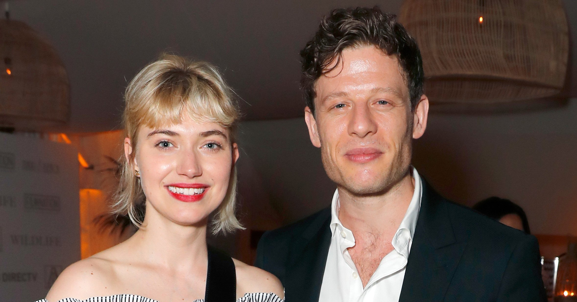 McMafia's James Norton only has eyes for new girlfriend Imogen Poots as pair make public debut