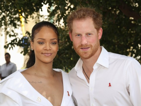 Rihanna really doesn't care about the royal wedding but has kinky advice for Meghan and Harry