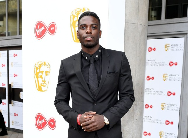 Mandatory Credit: Photo by Jonathan Hordle/BAFTA/REX/Shutterstock (9670136b) Marcel Somerville British Academy Television Awards, Arrivals, Royal Festival Hall, London, UK - 13 May 2018
