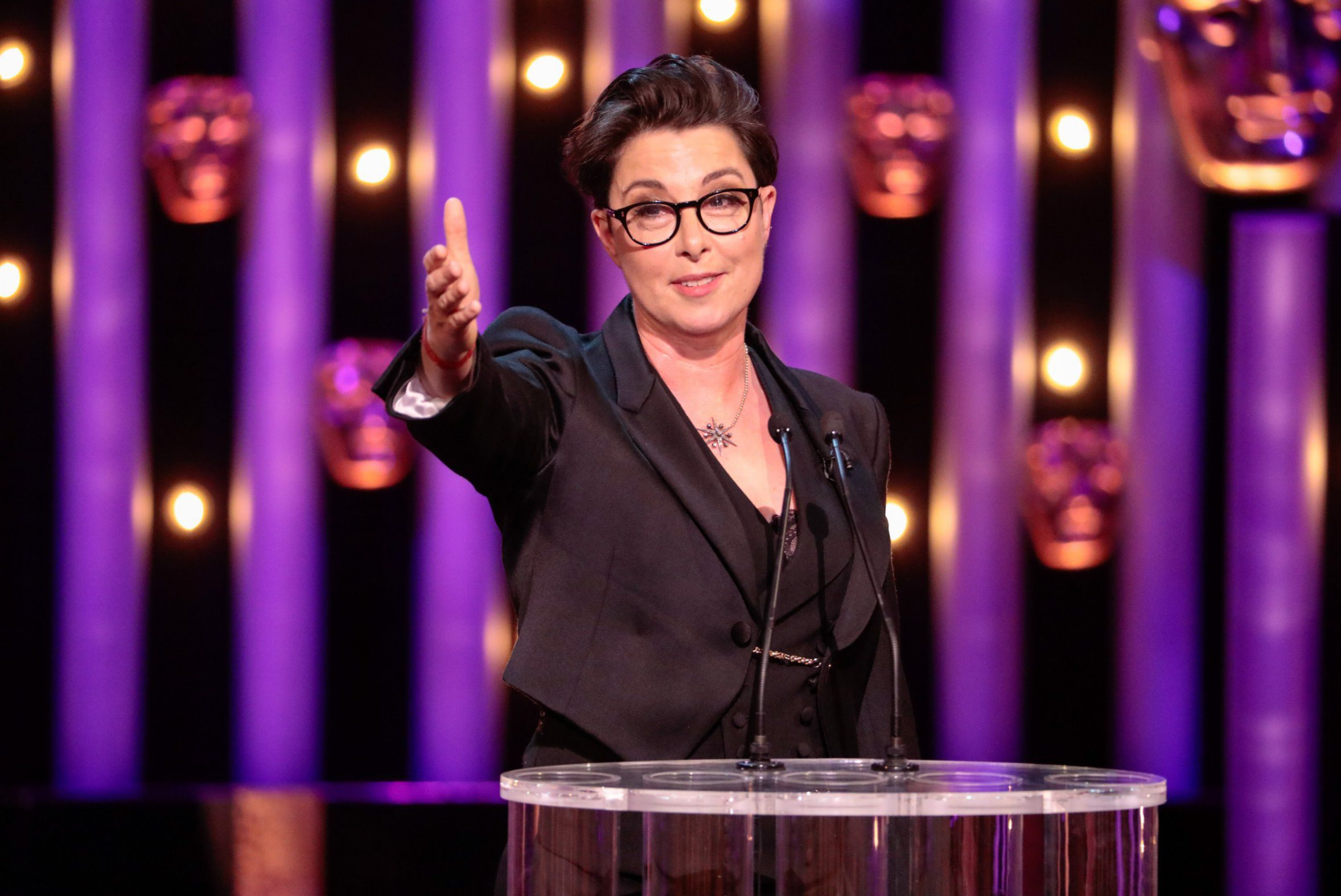 Germaine Greer says Sue Perkins' equal pay jokes at the Baftas were 'mistimed' and 'didn't work'