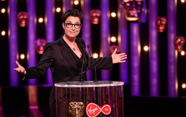 Mandatory Credit: Photo by Guy Levy/BAFTA/REX/Shutterstock (9670142d) Sue Perkins British Academy Television Awards, Ceremony, Royal Festival Hall, London, UK - 13 May 2018