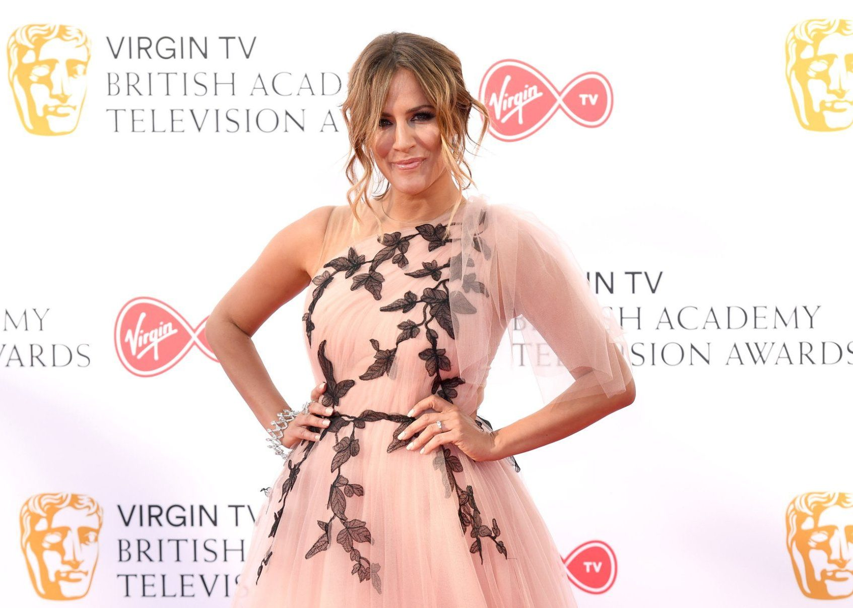 LONDON, ENGLAND - MAY 13: Caroline Flack attends the Virgin TV British Academy Television Awards at The Royal Festival Hall on May 13, 2018 in London, England. (Photo by Karwai Tang/WireImage)