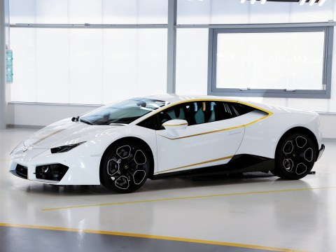 The Pope has sold his 198mph Lamborghini for £615,000
