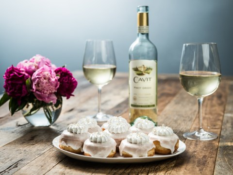 Pinot grigio doughnuts are the classiest way to stuff your face