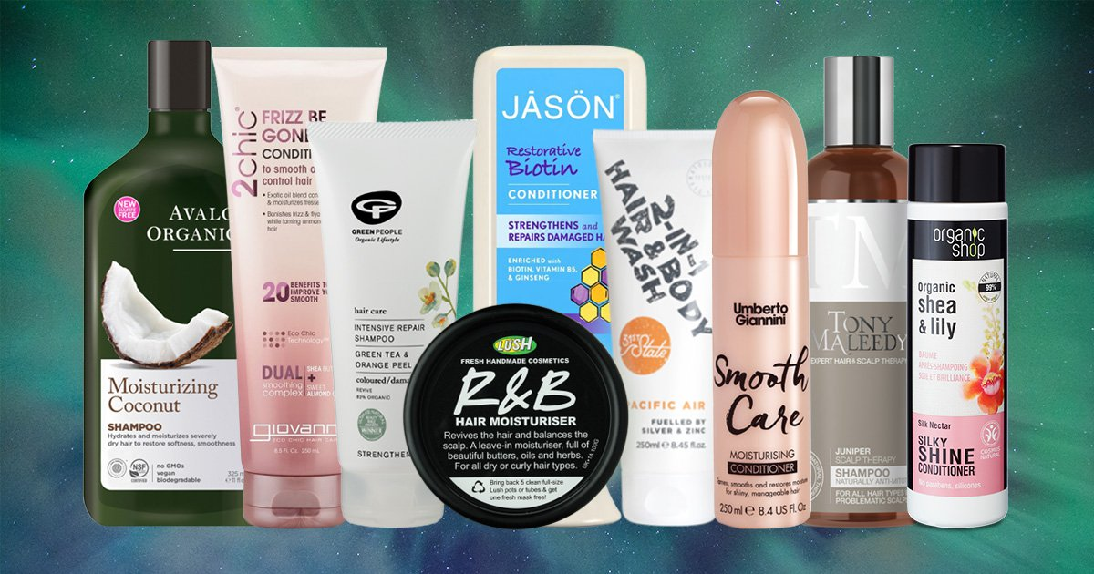 A collection of vegan haircare