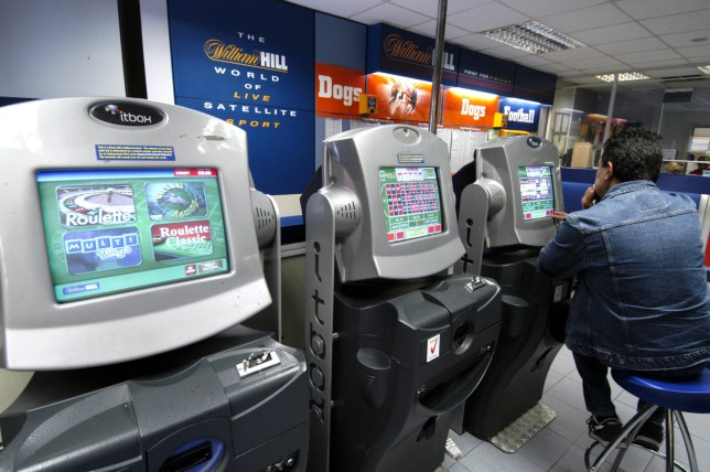 Mandatory Credit: Photo by Alex Segre/REX/Shutterstock (502149al) WILLIAM HILL BETTING SHOP VARIOUS