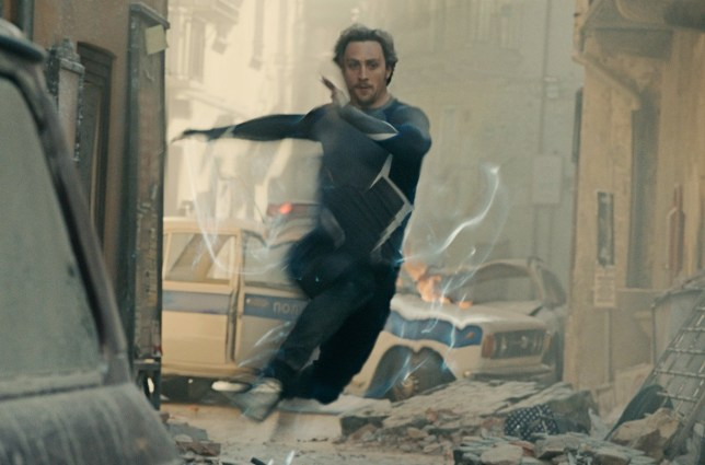 Marvel's Avengers: Age Of Ultron..Quicksilver/Pietro Maximoff (Aaron Taylor-Johnson)..Ph: Film Frame..?Marvel 2015