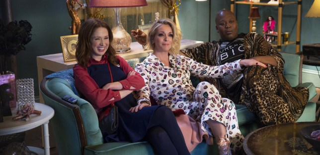 Unbreakable Kimmy Schmidt, Season 4 production stills (Picture: Netflix)