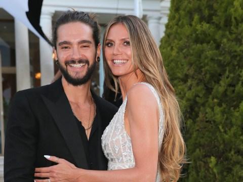 Heidi Klum and Tom Kaulitz go public with relationship at amfAR