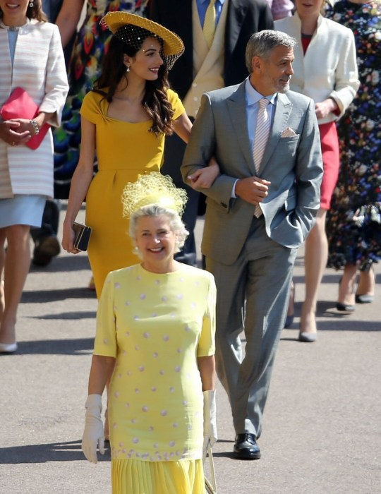 Amal Clooney Royal Wedding.America S Royal Couple George And Amal Clooney Win The Style Stakes