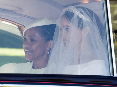 Mother of the bride outfits at royal weddings – from Diana to Meghan Markle as her mum Doria Ragland wears Oscara de la Renta