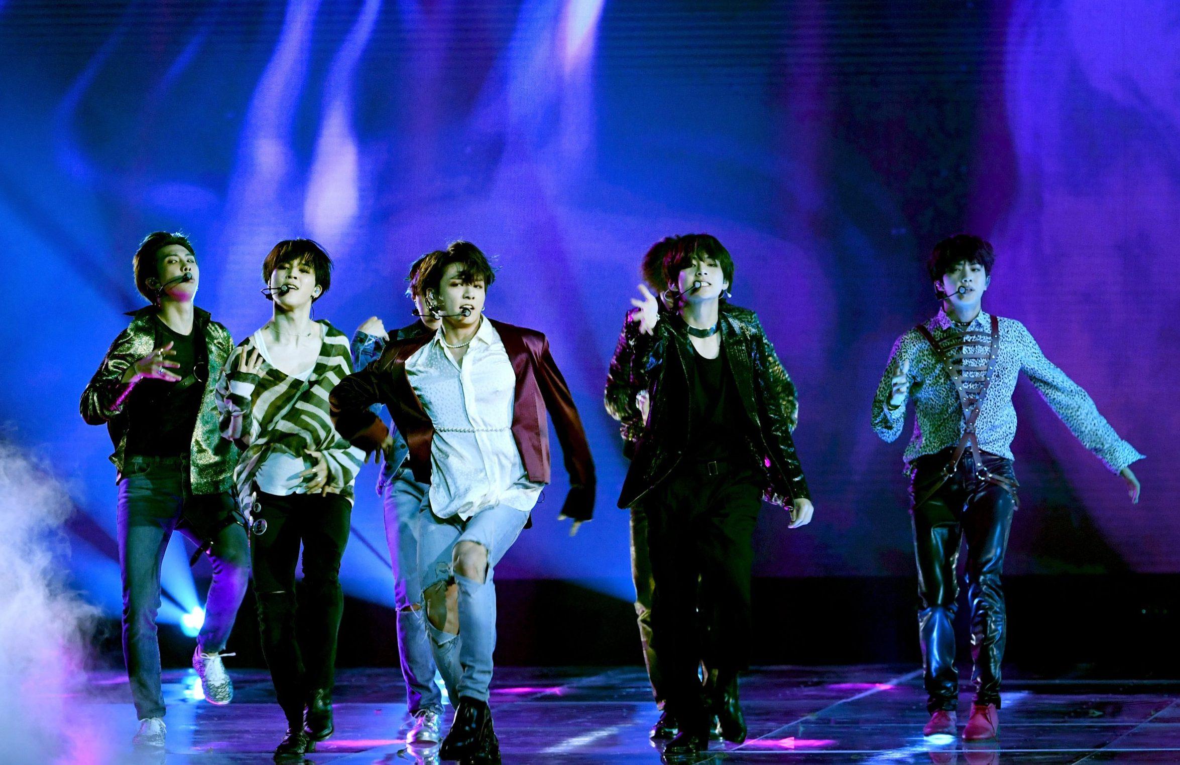 BTS smash Billboard Music Awards performance moments after winning top social artist award