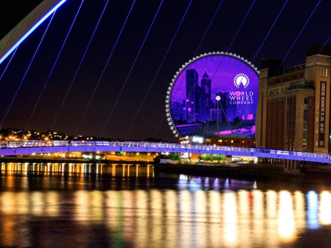 Geordies are really excited about Newcastle's answer to the London Eye – the Whey Aye