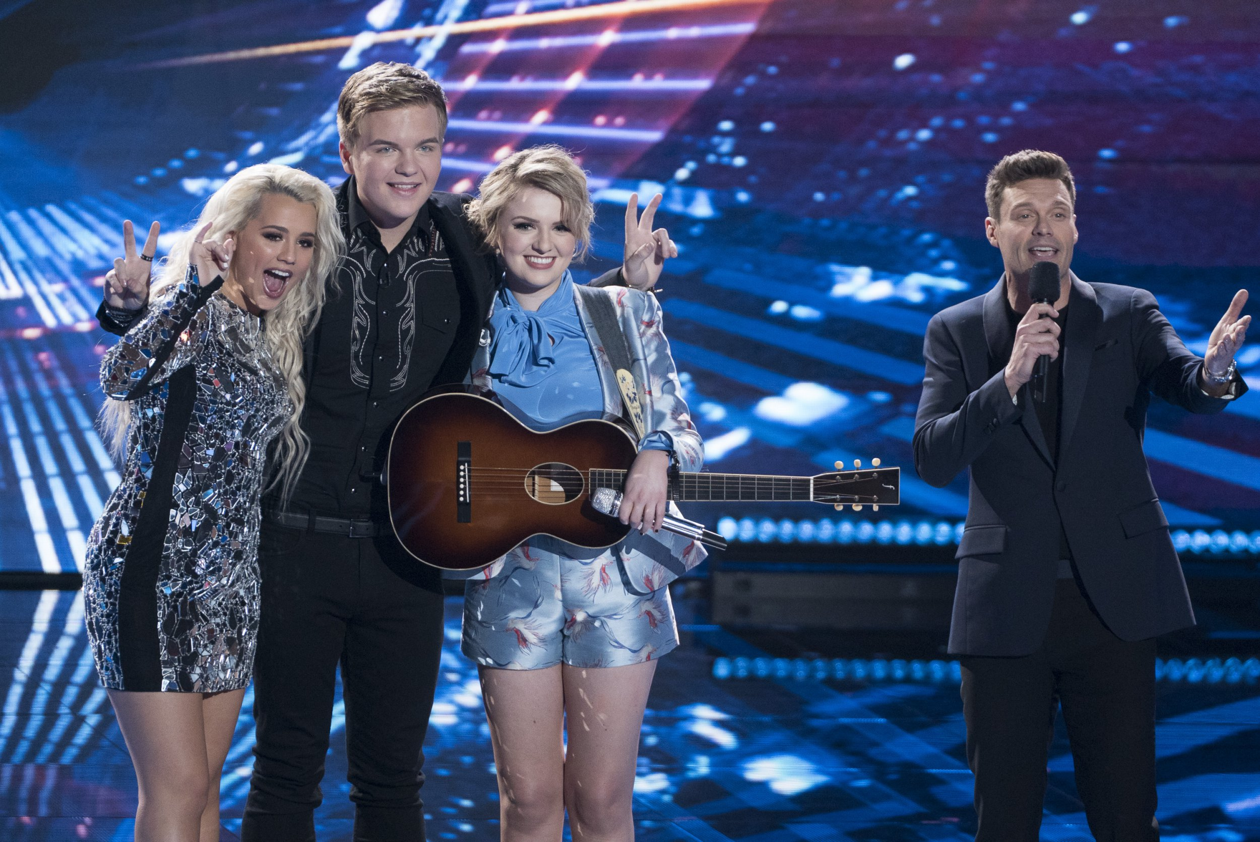 American Idol finalists, final date and is the show being aired in the UK?