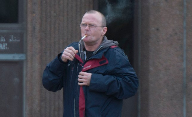 Peter Hillin pictured leaving Liverpool Magistrates Court in Derby Square, Liverpool. Credit: Liverpool Echo Payment at your normal rate to Trinity Mirror Publishing Ltd PO Box 2003 39 Old Hall Street Liverpool L69 3FR