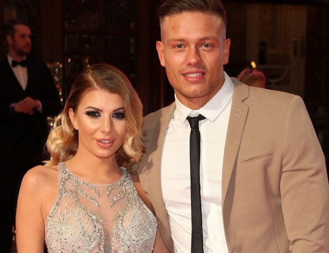 LONDON, ENGLAND - NOVEMBER 24: Alex Bowen and Olivia Buckland attend the ITV Gala hosted by Jason Manford at London Palladium on November 24, 2016 in London, England. (Photo by David M. Benett/Dave Benett/Getty Images)